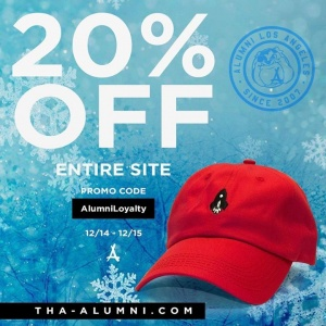Today and Tomorrow! Alumni Clothing www.Tha-Alumni.com