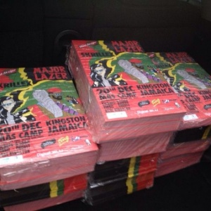 20,000 FLYERS GOING UP ALL OVER JAMAICA!  12.20.13 WITH skrillex http://t.co/Dfjov4tPJp