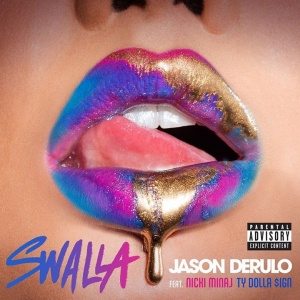 "Jason Derulo teams up with Nicki Minaj and Ty Dolla $ign for his new single titled ""Swalla,"" to be released February 24.   Now available for pre-order: WBR.lnk.to/SwallaiTunes #Swalla"