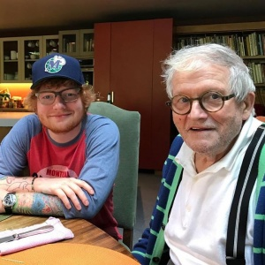 Absolute honour to get to spend some time with one of my favourite artists of all time, David Hockney. He was my first introduction as a child to art that I really connected to, and I can't quite believe we got to eat pie together and talk about Yorkshire