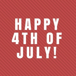 Happy 4th of July! #IndependenceDay #July4th