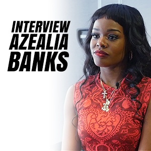 Azealea Banks clash Kanye West - Interview avec Mrik