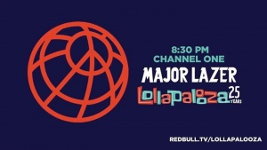 Lollapalooza LIVE 6:30 PST/ 8:30 CST CHANNEL 1