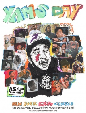YAMS DAY  2018 A$AP MOB X FRIENDS - https://t.co/vDnyHjD8Dh https://t.co/T5QuSGgagI