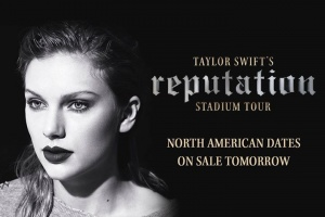 Taylor Swift's reputation Stadium Tour in North America is on sale tomorrow at 10a local time.   Get more info here: ticketmaster.com/taylorswift