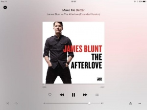 Happy friday everyone. James Blunts new album is out today, I co wrote this one with him and it's awesome, check out the album x