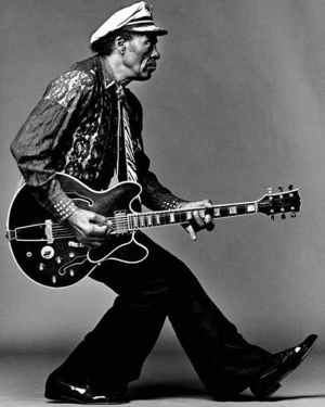 Pioneer. Innovator. Legend. All-around BADASS. RIP, #ChuckBerry.