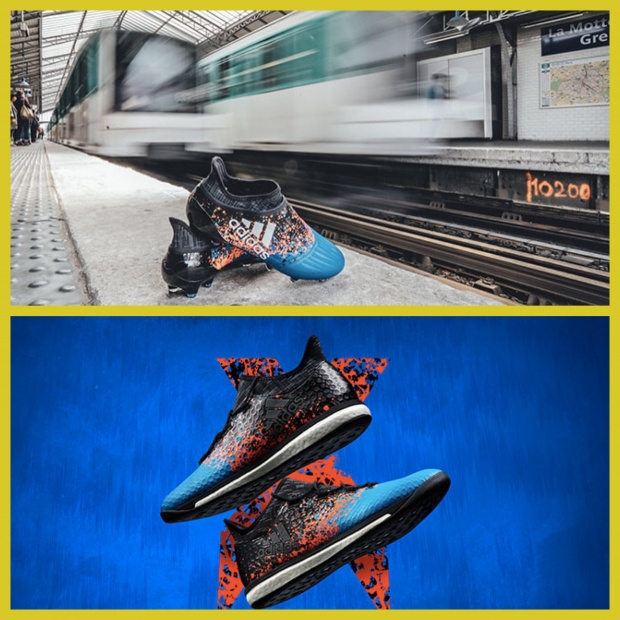 Adidas célèbre l'Euro en France avec le « Paris Pack » [PHOTO]