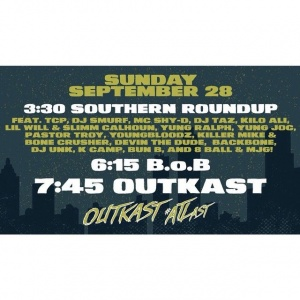 Final night. #OutkastATLast #ATLast #Outkast20