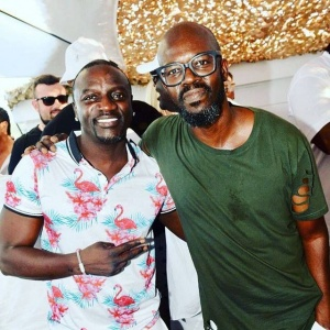 Great day with my guy @realblackcoffee. African konnection
