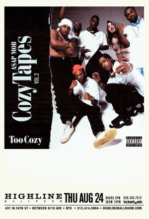 TOO COZY RELEASE PARTY NYC TICKETS AVAILABLE TMRO https://t.co/jBRDrYa1cj