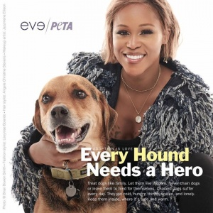 Dogs are like family and should be treated like it ❤️ Never chain them & check out my new ad @peta http://peta.vg/evedogs