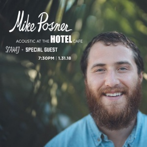 Limited tickets for acoustic night at The Hotel Cafe — playing some of my new songs before they're out ✨ Tickets: http://mikeposner.co/hotel