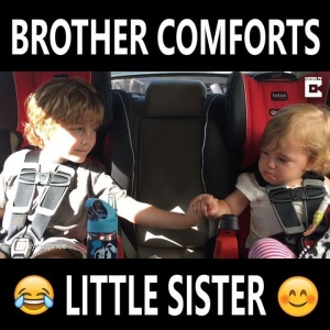 That's what big brothers are for!