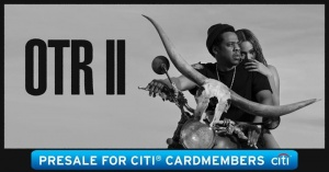 Citi cardmembers get pre-sale tix now for the #OTR2 Tour with JAY-Z: http://citi.us/2Gq9uiW
