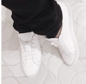 Details - Tip for keeping white shoes white… wear them about once a year