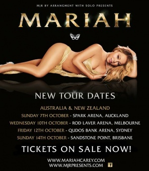 Australia & New Zealand! Tickets for my shows in October are on sale now!