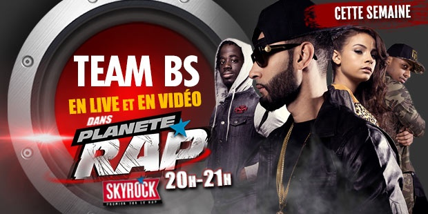 PLANETE RAP LA FOUINE/TEAM BS