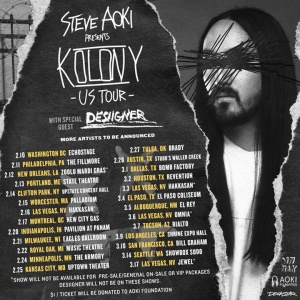 2018 Goiing Crazy With My Big Bro @steveaoki PRESALE STARTS TODAY