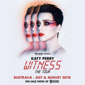 Australia! Tickets & VIP packages for #WITNESSTHETOUR are on sale now with second shows added in Brisbane & Adelaide❗️bit.ly/KatyPerryAU