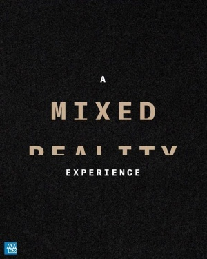Teamed up with American Express to bring the OUTSIDE IN. Check out our mixed reality shop for #MOTW. AmexMusic.com/app #AmexMusic
