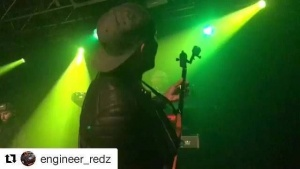 #Repost @engineer_redz ・・・ Cardiff last nite .... London o2 tonite ... vid cred: @engineer_redz