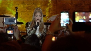 Here's Shak performing Chantaje in Barcelona at the El Dorado launch party! ShakHQ https://t.co/QJDWiHLfJ6
