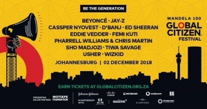 I'm heading to Johannesburg to celebrate the life and legacy of Nelson Mandela at the Global Citizen Festival: Mandela 100. Join me on 2 Dec. and be the generation to end extreme poverty. Learn how to earn your free tickets at http://globalcitizen.org.za