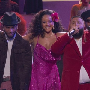 DJ Khaled - Wild Thoughts (LIVE from the 60th GRAMMYs) ft. Rihanna, Bryson Tiller