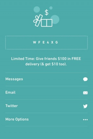 If you download POSTMATES and use my code you will get 100$ in free food!!! https://t.co/zjfaE59fDu
