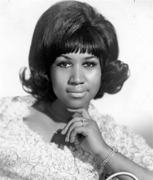 One of the most iconic soulful voices of our time... Thank you Ms. Aretha Franklin for opening doors for women like myself being fearless and breaking down global barriers with your gift... making music with soul and feelings that we could all relate to..