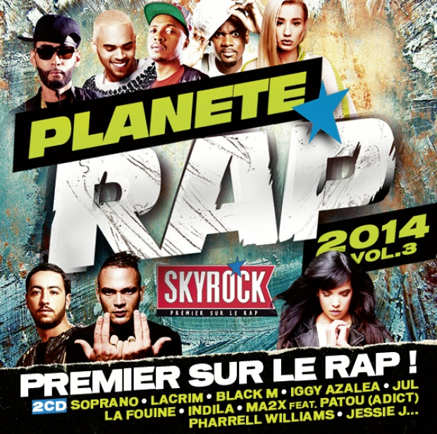COMPILATION PLANETE RAP VOL.3