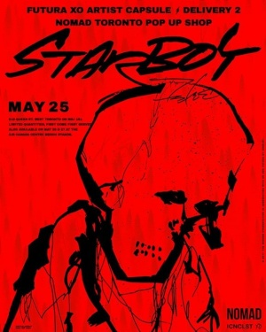 Futura Starboy Capsule Collection May 25 at Nomad Toronto