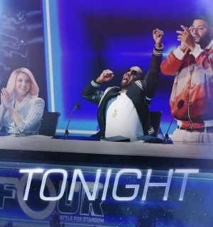 Tune-in now on Fox! #thefour