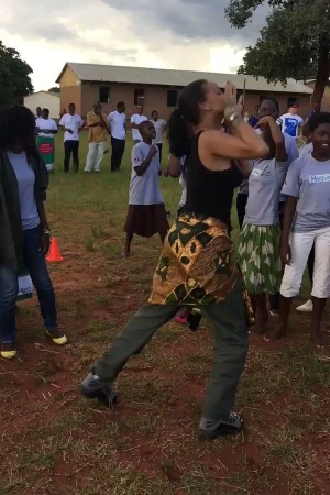 Today's lit af! Played soccer on a dirt field with the most beautiful kids in Mchingi, Northern Malawi #CLF #GC #GPE https://t.co/MDBkE4jMop