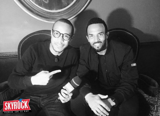 Craig David is back ! L'interview Skyrock avec Mrik