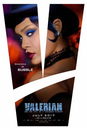 Valerian premiere in Hollywood today! See Luc Besson's phenomenal work of art, out this Friday, July 21.