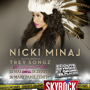 NICKI MINAJ - DATE SUPPLEMENTAIRE !
