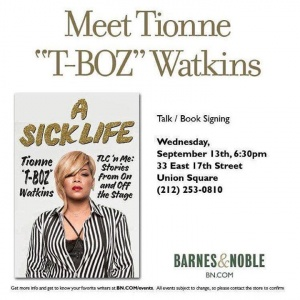 Less than 2 hours y'all. Who's gon' B there? #ASickLife   More details over at https://stores.barnesandnoble.com/event/9780061866669-0
