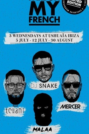 "So excited for ""Pardon My French"" IBIZA"