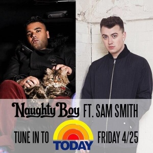 Early morning w/ @TODAYshow! Tune in to see @SamSmithWorld & I perform #LaLaLa http://t.co/erjnmBk5M2 http://t.co/q4OvKCxsgU