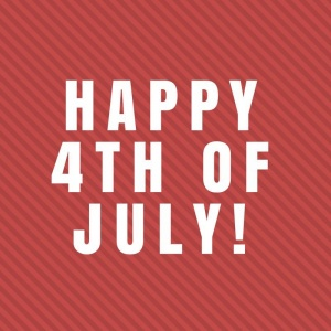 Happy 4th of July! #IndependenceDay #July4th https://t.co/I6SihYKocb