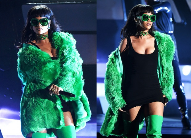 "Rihanna 'Bitch Better Have My Money"" en live aux iHeartRadio Music Awards"