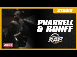 PRC - Pharrell Williams et Rohff en studio à Los Angeles pour la B.O de Taxi 3