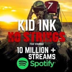 #NoStrings now has 10 Million + Streams on Spotify!!