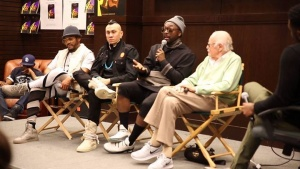 Thanks to everyone who came out to Barnes & Noble Events, The Grove Monday night for the Masters Of The Sun book signing and panel with E! Entertainment #DailyPop host Justin Sylvester. Much thanks to Stan Lee #MastersoftheSun illustrator Damion Scott, co