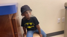 HAD TO TAKE MY SON TO THE DOCTOR