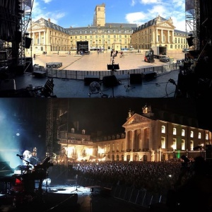 Day&nighttime in Dijon. Merci! #tourlife #thankful