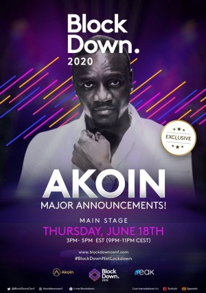 Join me at @blockdownconf for a big @AkoinOfficial announcement... Sign up at https://t.co/XitjIF1KIs https://t.co/kLXCtjgang