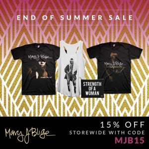 Good Morning!! End of the Summer Sale starts today! Click Link-------->>>> https://shop.maryjblige.com